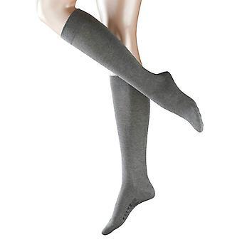 Falke Sensitive London Knee High Socks - Grey Mix