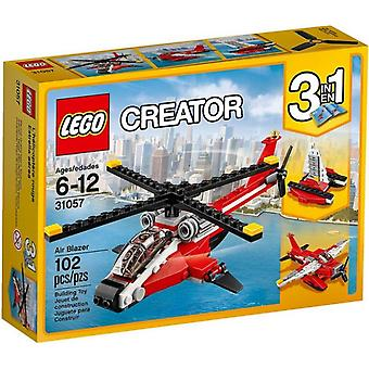 31057 Red LEGO Helicopter