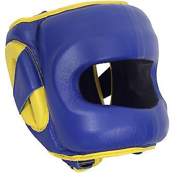 Am Ring Deluxe Gesicht Saver Boxen Kopfbedeckungen - blau