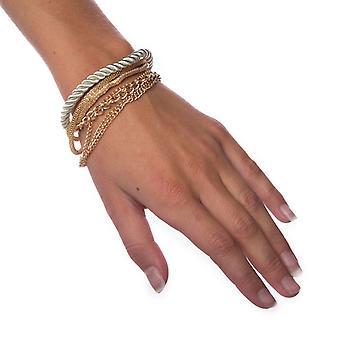 Geschichtete Armband-Silber