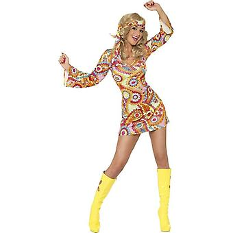 1960's Hippy Costume, UK Dress 16-18