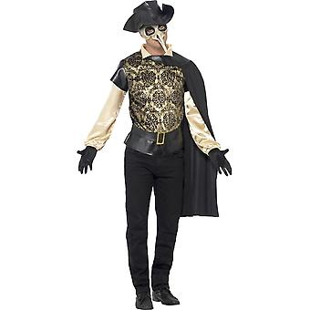 Plague Doctor Costume, Chest 38