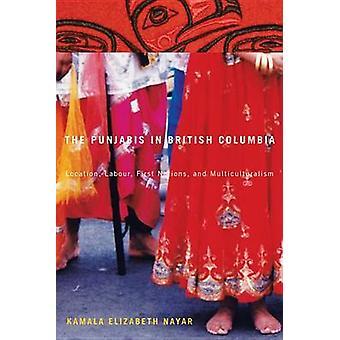 Os Punjabis em British Columbia - localização - vara do trabalho - primeiras nações-