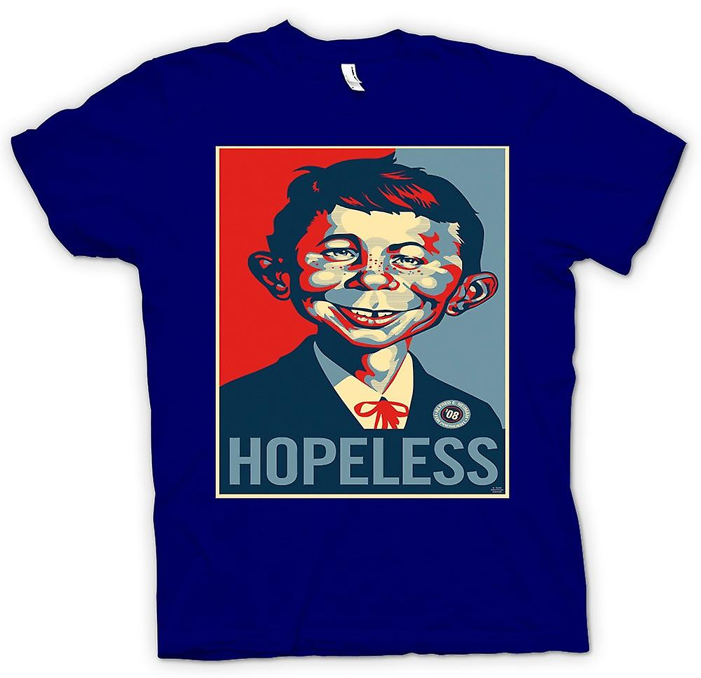 Mens T-shirt - Mad Hopeless Obama - Pop Art - Style