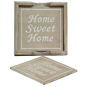 Gisela Graham Coasters 38150 Home Sweet Home