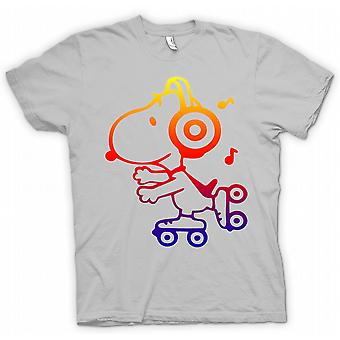 Kids T-shirt - Snoopy On Roller Skates