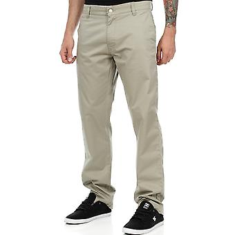 West Coast Choppers Beige-Kult Olive Chino Pant