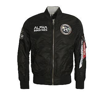 Alpha Industries MA-1 Moon Landing Reversible Jacket | Black