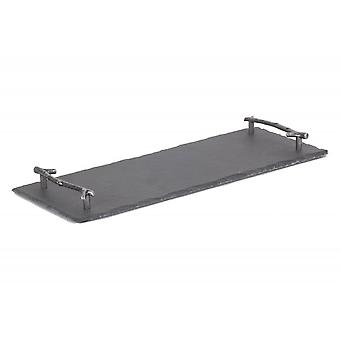 Drinks Slate Serving Tray With Antler Handles