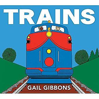 Trains [Board book]