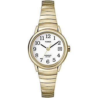 Timex women's T2H351 Classic stainless steel Analog wristwatches, gold