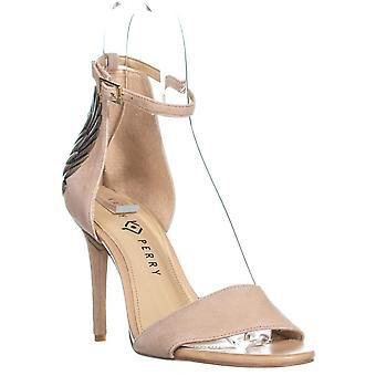 Katy Perry Womens The Alexann Suede Open Toe Special Occasion Ankle Strap San...