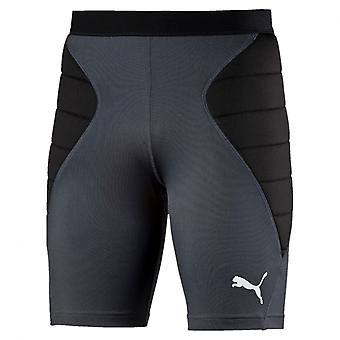PUMA GK Tight Padded s Kinder Torwart-Shorts ebony-Schwarz - tradewinds