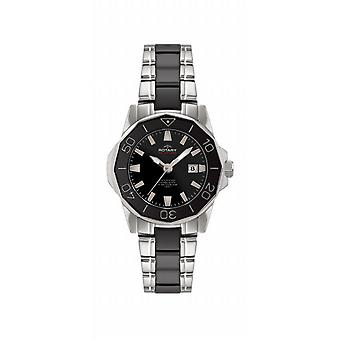 Rotary Watch/ R0064/ALB00030-W-BLK