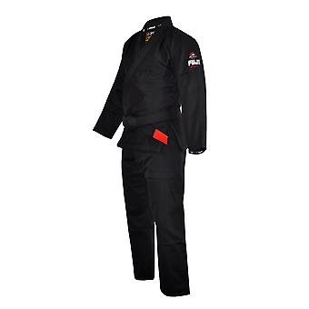 Fuji Sports Mens Lightweight Jiu Jitsu Gi - Black