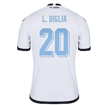 2015-2016 Lazio authentiek derde Shirt (L.Biglia 20)