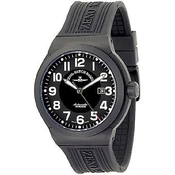 Zeno-Watch Herrenuhr Raid Titan Automatic black 6454-bk-a1