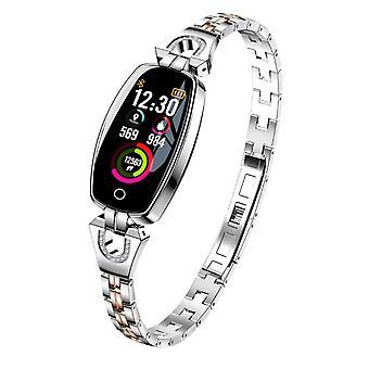 Bracelet H8 activité avec cristaux-Silver
