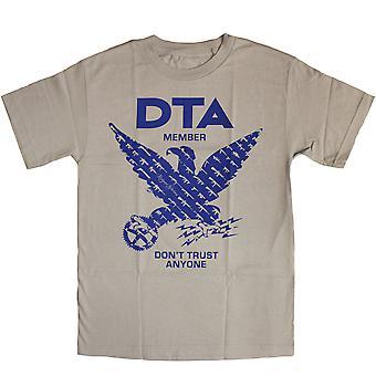 DTA RS Birdshow T Shirt Silver Blue