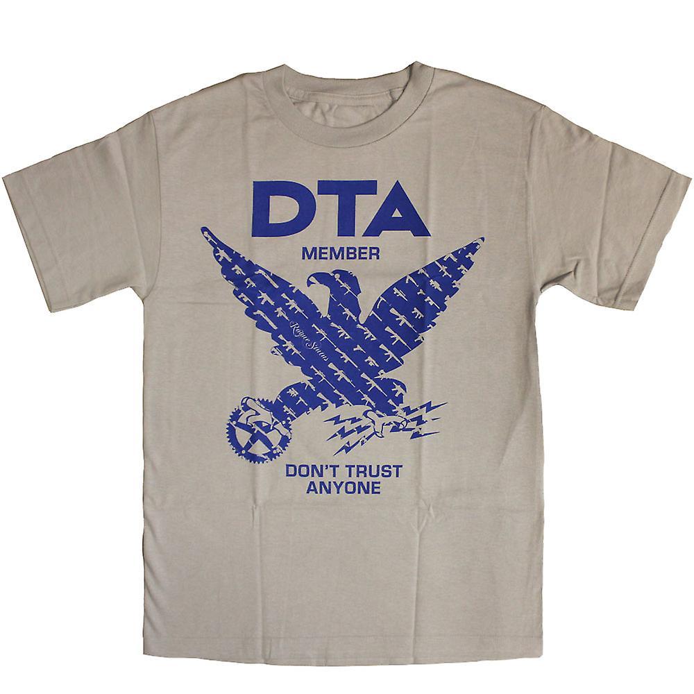 DTA RS Birdshow T skjorte sølv blå