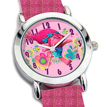 Dreamworks Trolls Glitter Analogue Wristwatch