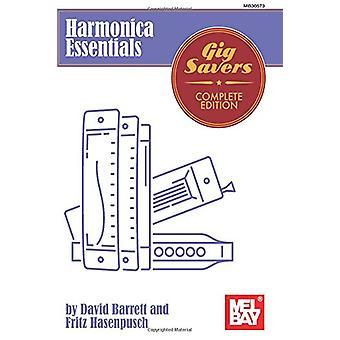 Harmonica Essentials by Prof David Barrett - 9780786697007 Book
