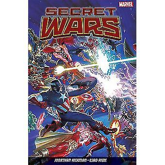 Secret Wars by Jonathan Hickman - Esad Ribic - 9781846536892 Book
