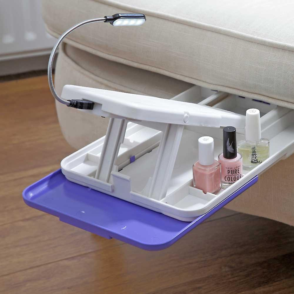 Pedicure Stand with Light | L30xW20.5xD4cm | Easylife Group