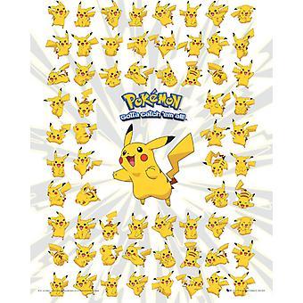 Pokemon Pikachu Mini Poster 40x50cm