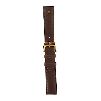 Maurice Lacroix | 20mm Brown Leather Strap Rose Gold | No Buckle ML740-005012 Watch