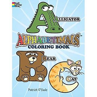 Alphabetimals Coloring Book (Dover Coloring Book) (Dover Coloring Books)