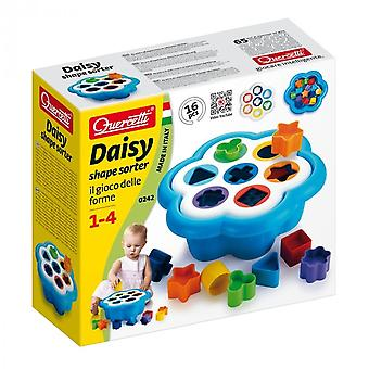 Quercetti Daisy Shape Sorter 16 Piece Ages 1-4 Years