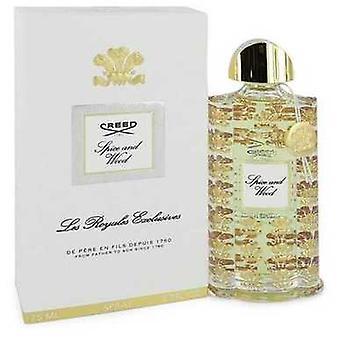 Spice And Wood By Creed Eau De Parfum Spray (unisex) 2.5 Oz (women) V728-546955