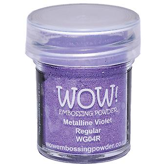 Wow! Embossing Powder 15Ml Violet Metalline Wow Wg04r