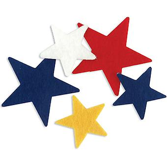 Stick It Felt Shapes Stars 68 Pkg Fssif 03