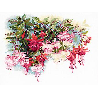 Fuchsia Counted Cross Stitch Kit 15.75