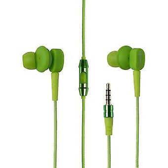 Headphone Boompods Earbuds Android In-ear Headset Green