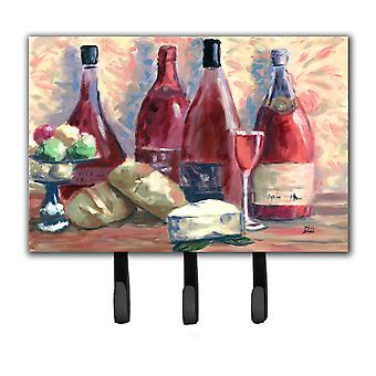 Wine and Cheese by David Smith Leash or Key Holder SDSM0127TH68