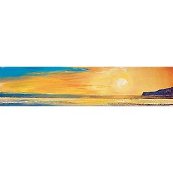 Ronnie Leckie print - Golden Sunset 1
