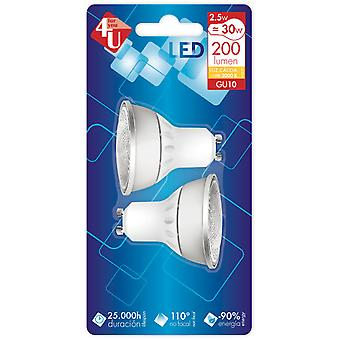 Garza 4U GU10 5W 200 Lm 110th Bipack (Home , Lighting , Light bulbs and pipes)