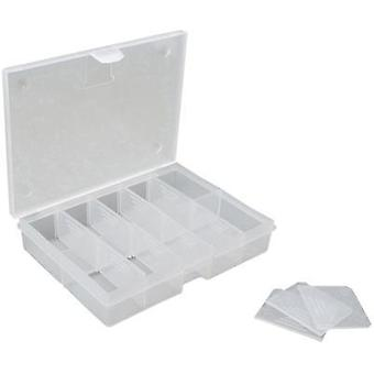 Assortment box (L x W x H) 130 x 100 x 30 mm VISO No. of compartments: 10