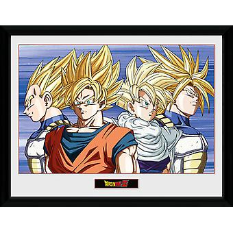 Dragon Ball Z Group Framed Collector Print