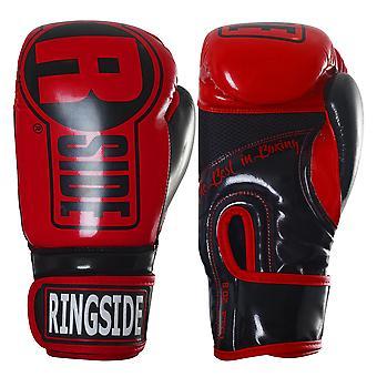 Ringside Boxing Apex Fitness Bag Gloves - Red/Black