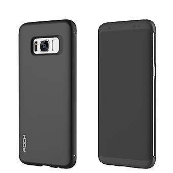 Oprindelige ROCK skygge smart cover sort for Samsung Galaxy S8 plus G955 G955F