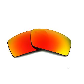 New SEEK Replacement Lenses for Oakley Sunglasses GASCAN Red Mirror