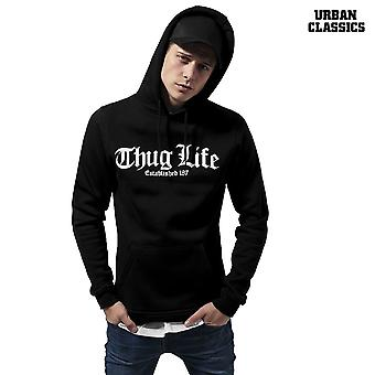 Urban classics Hoody Thug Life old English