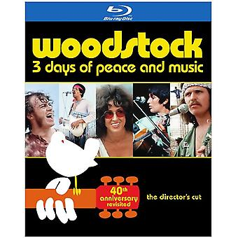 Woodstock: 40. Jahrestag (Limited Edition) [BLU-RAY] USA Import