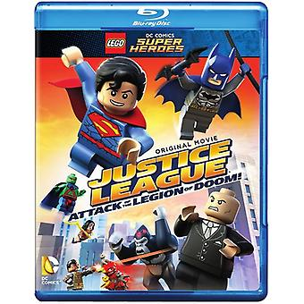 Lego Dc Super Heroes: Justice League - Attack of [Blu-ray] USA import