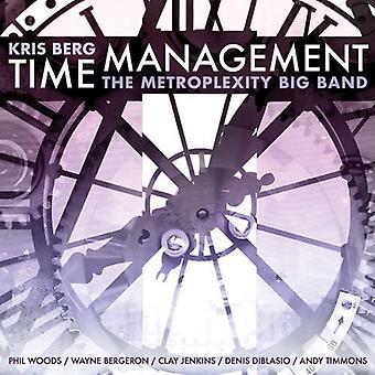 Kris Berg & Metroplexity Big Band - Time Management [CD] USA import