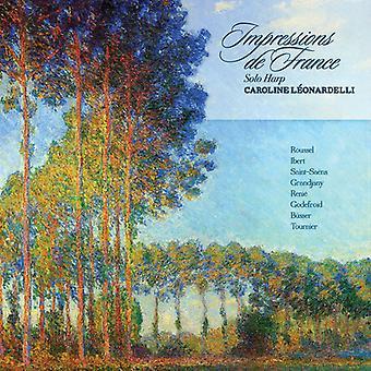 Caroline Leonardelli - Impressions De France [CD] USA import